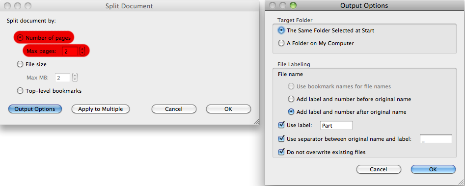Breaking up is hard to do… InDesign files into individual