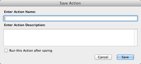 saveaction