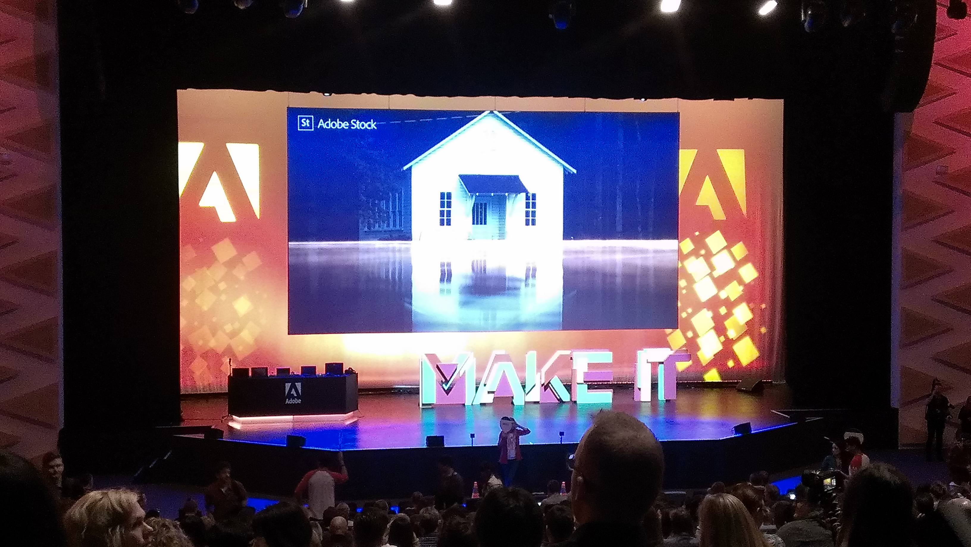 Moments before the start of MAKE-IT 2017